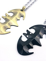 Batman Superhero Bat Sign Necklace Movie Cosplay Accessory