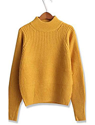 moda solta doce pullover elegante malhas das mulheres (mais cores)