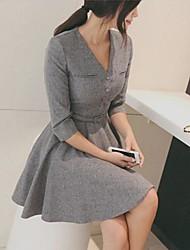 rxhx todo vestido de base correspondente estilo coreano das mulheres
