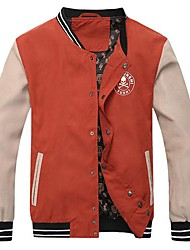 Men's Korean Style Stand Collar Slim Jacket