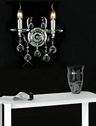 две лампы кристалл стены