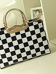Lady Fashion Diamond Shape Tote