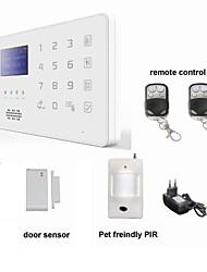 App android GSM SMS Security Burglar Alarm System Detector Sensor Remote Control keypad
