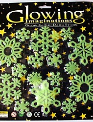Wall Stickers Wall Decals,Christmas Snowflake PVC Wall Stickers.