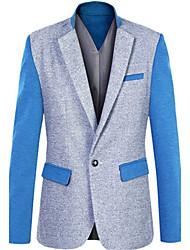 SangSong Men's Fashion Winter New Korean Slim Blazer Coat