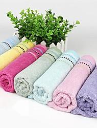 Multicolor Wash Towel 100% Bamboo Fiber Towel 34*76cm