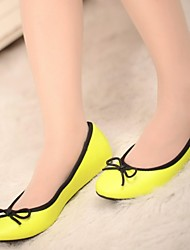 Women's Shoes  Round Toe   Flat Heel  Flats  with Bownot Shoes  More Colors available