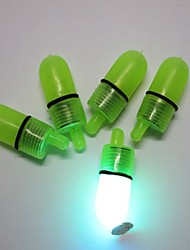 5pcs feux de cloche de pêche fixés Flashlight