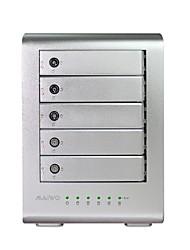 "maiwo k5fu3 liga de alumínio USB3.0 para 2.5 ""/ 3.5"" SATA HDD externo gabinete matriz"