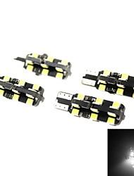 4pcs LED T10 7010 SMD 194 W5W cuña sidecar luz de la placa número interior bombilla de la lámpara interna
