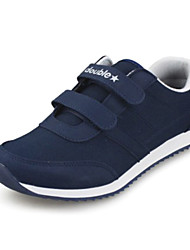 Women's Men's Spring Fall Winter Comfort Fabric Casual Flat Heel Black Blue Green Gray Navy Walking