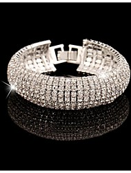 Noble Luxurious Diamond Cuff Bracelets