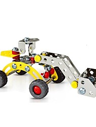 Magical Model DIY Intellectual Development Stainless Alloy Assembled Engineering Plant Bulldozer Toy(80 PCS)