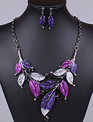 Colorful day  Women's European and American fashion necklace-0526127