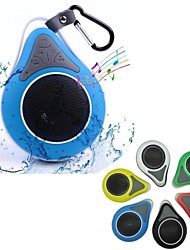 JT2686 Mini Portable IPX7 Waterproof Bathroom Hang Hook Wireless Bluetooth Speaker Supports Handsfree Functions