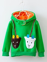 Children's Fashion Sheep Pocket with Hooded Hoodies