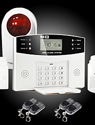Economic 99 Zone LCD Display GSM Alarm System, SMS Alarm with GSM SIM Card