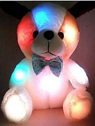 unisex o novo coelho bonito brinquedo de pelúcia de emissão de luz