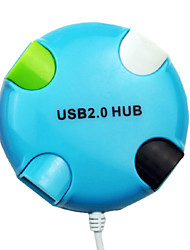 4-poorts high-speed USB 2.0-hub