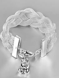 Луна женская вязанные чистая браслет