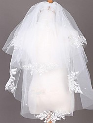 Multilayer Elegant Bride Wedding Veil