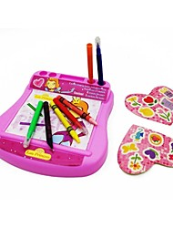 Children Pink Color Learning Education Wrting Craft Art Board