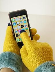 qianjiatian luvas mulher touchscreen para telefones móveis a-14028 (entrega aleatória)