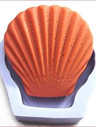 shell shaoed fondantes outils gâteau au chocolat en silicone moule à cake de décoration, l8.6cm * * w8.5cm h3cm