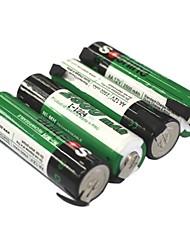 Soshine 1.2V 2500mAh AA oplaadbare Ni-MH batterijen (4 stuks)