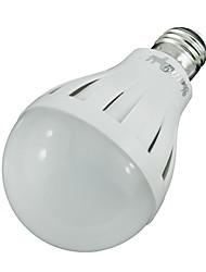 9W E26/E27 LED Kugelbirnen 15 SMD 5630 600 lm Warmes Weiß Dekorativ AC 220-240 V
