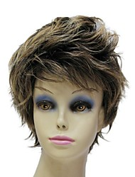 Capless Top Grade Synthetic Short Mens Wigs