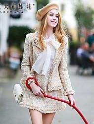 lana moda moda trajes elegantes ol doll® de las mujeres de color rosa