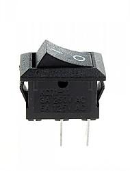interruttore 2-pin on / off (3a, 250V AC / 6a, ac 125V) - (10pcs)