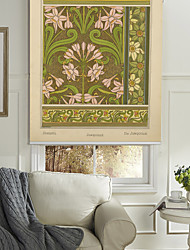 Narcissus Flowers Pattern Roller Shade
