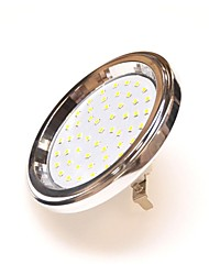 Everbrite Dekorativ Spot Lampen AR111 G53 7 W 600 LM 3000 K 51 SMD 2835 Warmes Weiß AC 85-265 / AC 12 V