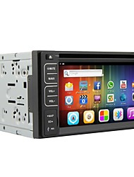 android 4.2 6.2 inch in-dash auto dvd-speler multi-touch capacitieve met wifi, gps, rds, ipod, bt, dvb-t