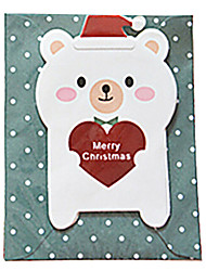 mini belle cartoline di Natale (colore casuale)
