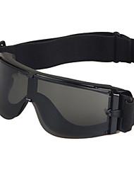 [lentes de repuesto gratis] gafas deportivas motocicleta pc ajustable moda abrigo