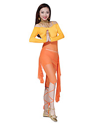 Belly Dance Dancewear Women's Sexy Chinlon&Tulle Skirts(More Colors)