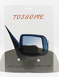 toshome pellicola anti-riflesso per specchietti retrovisori esterni per BMW Serie 1 hatch-back 2012-2013