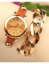Women's 2015 The Latest Fashion Leather Chained Japanese Quartz Watch(Assorted Colors) Cool Watches Unique Watches