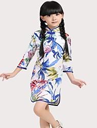 chino cheongsam niñas