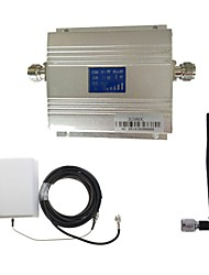 LCD 3G980 2100MHz Mobile Signal Booster with Panel Antenna Kit New