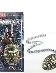 Spider-Man accessoire collier symbole de super-héros de film cosplay