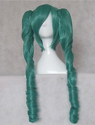 Vocaloid MIKU Green 75cm Cosplay Wig