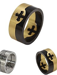 Church Cross Detachable Titanium Steel Ring