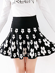 Women's Skirts , Cotton Casual Hilary