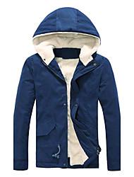 Men's New  Leisure Fashion Hot Hooded  Coat