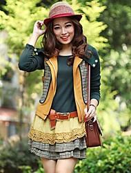 coton ouaté à manches longues habit des femmes (capuche gilet&robe&ceinture)