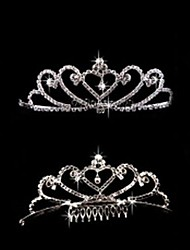 Temperament Bright drill Wedding Tiara Princess Crown